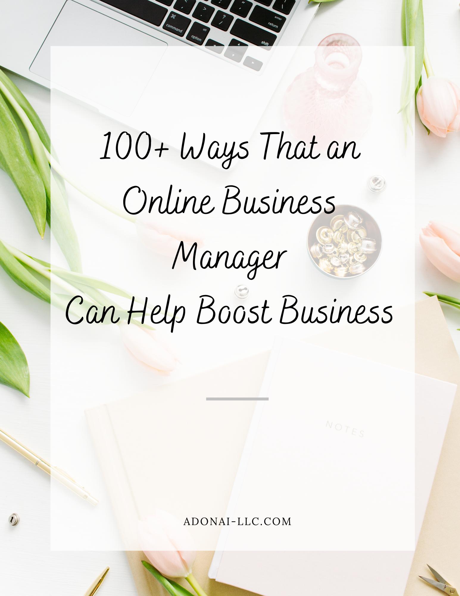 100 Ways to Use OBM